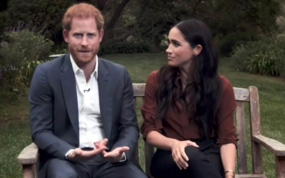 The Sussexes have been urging Americans to vote in the forthcoming presidential election - pixel GRG