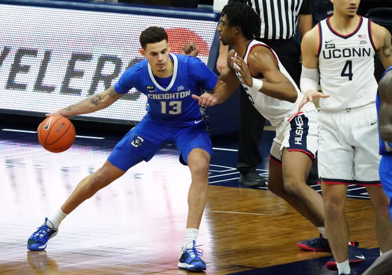 NCAA Basketball: Creighton at Connecticut