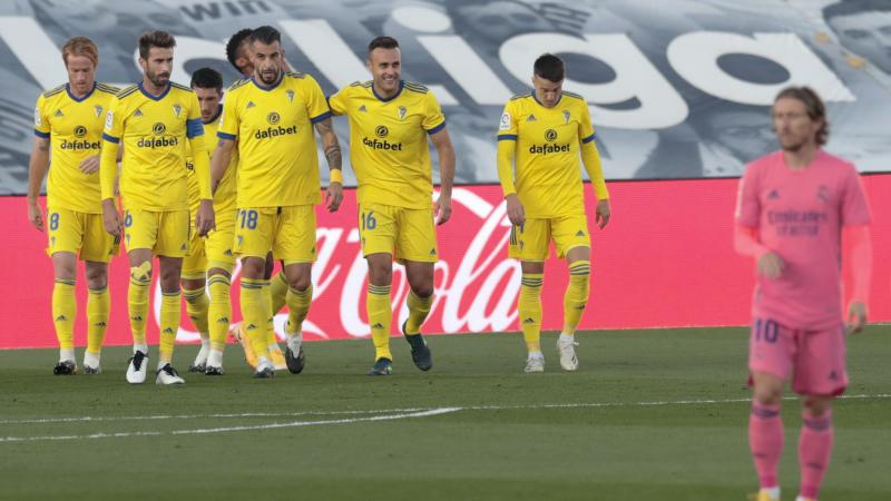 Promoted Cadiz inflict shock defeat on LaLiga champions Real Madrid