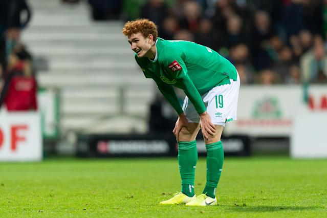 Injury will keep Werder Bremen striker Josh Sargent out until the new year. (Getty)