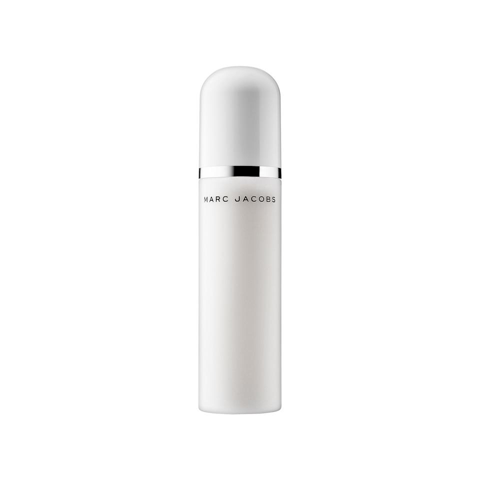 """<p>""""Described as a 'micro-mist,' <a rel=""""nofollow"""" href=""""http://www.allure.com/story/marc-jacobs-recover-perfecting-coconut-setting-mist?mbid=synd_yahoobeauty"""">this milky spray</a> is so fine you'll need to bring the bottle just four inches from your face to feel the full effect. Once you do let the mist hit, it's ah-mazing. Post-spritz, your skin will look slightly dewier — and, call me crazy, but happier — which I chalk up to the tropical coconut aroma."""" —<em>Sarah Kinonen, digital associate beauty editor</em></p><p>$39 (<a rel=""""nofollow"""" href=""""http://www.sephora.com/re-cover-perfecting-coconut-setting-mist-P417651?mbid=synd_yahoobeauty"""">sephora.com</a>).</p>"""