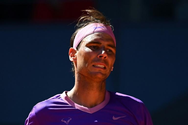 Rafael Nadal was beaten by Alexander Zverev at the Caja Magica in Madrid on Friday.