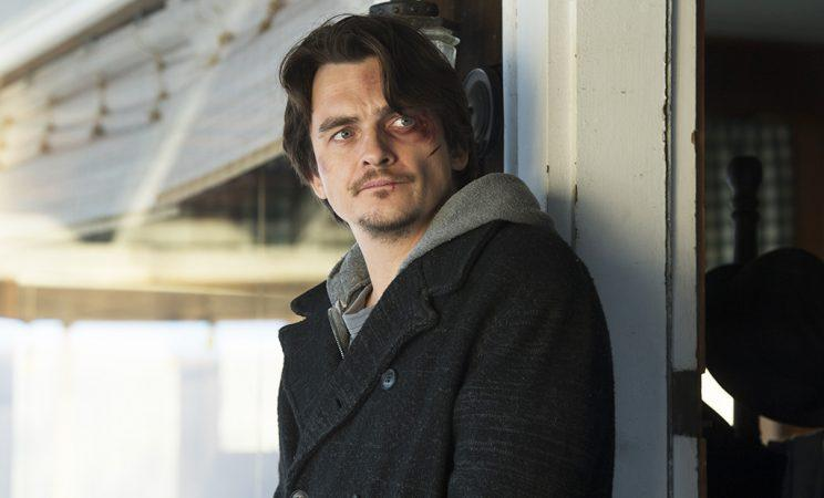 Rupert Friend as Peter Quinn in Homeland.