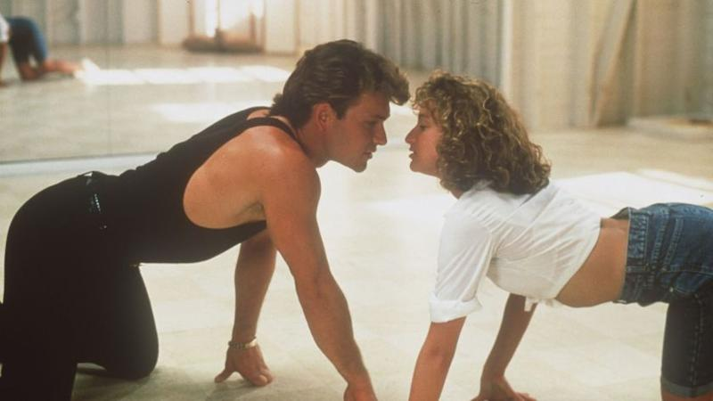 """CA.Dirty.0819.HO.Q––Patrick Swayze and Jennifer Grey in """"DIRTY DANCING"""" 1987Photo/Art by:Handout"""