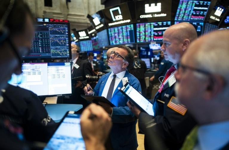 Last week, the Dow had edged to a fresh record high but the Nasdaq retreated after 10 straight all-time highs