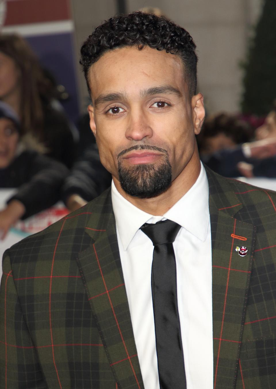LONDON, -, UNITED KINGDOM - 2019/10/28: Ashley Banjo on the red carpet at The Daily Mirror Pride of Britain Awards, in partnership with TSB, at the Grosvenor House Hotel, Park Lane. (Photo by Keith Mayhew/SOPA Images/LightRocket via Getty Images)