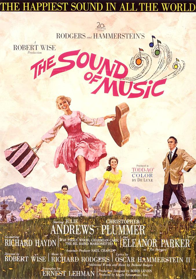 <p>This beloved film was based on the 1959 Broadway musical by Richard Rodgers and Oscar Hammerstein II. Robert Wise, who won Oscars for producing and co-directing West Side Story, won another pair of trophies for producing and directing this film. The film won five Oscars (from 10 noms). (Photo: 20<sup>th</sup> Century Fox) </p>