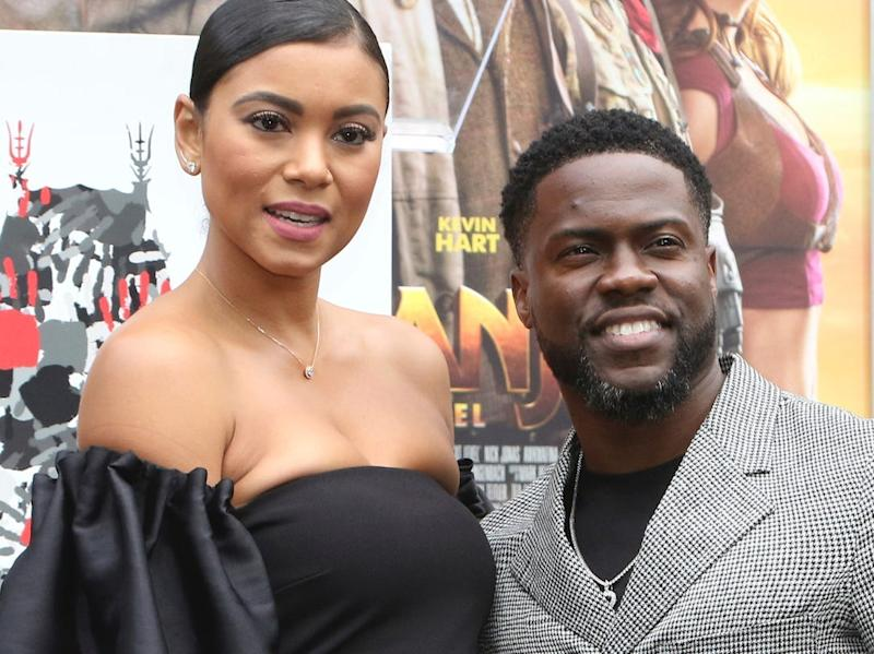 eniko parrish and kevin hart december 2019