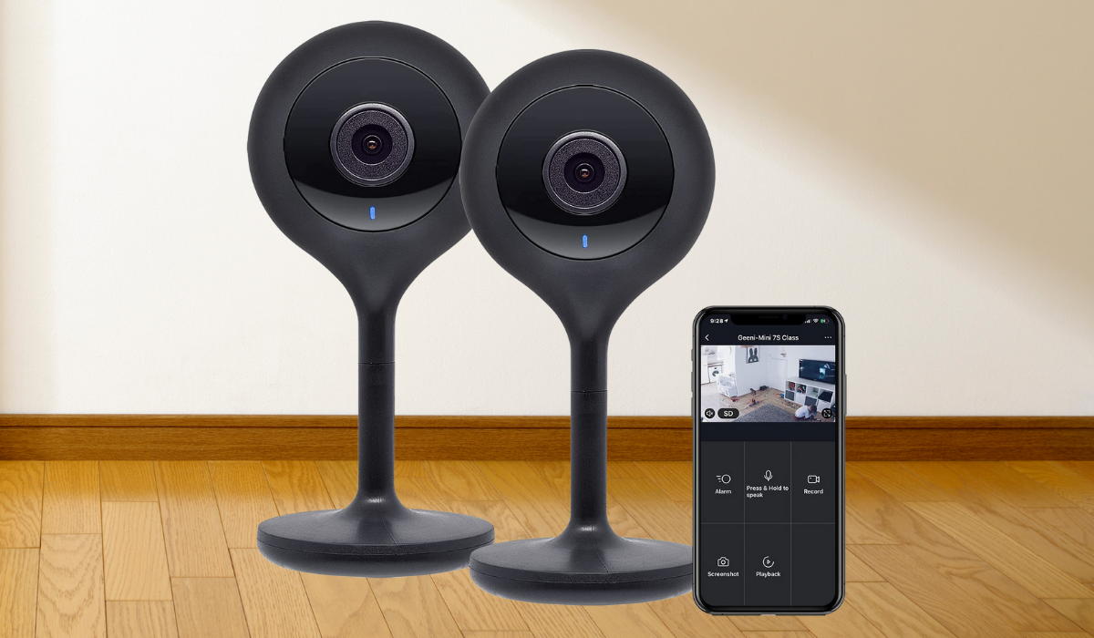 Intruders and misbehavers, beware; you've got your eyes on them. (Photo: Amazon)