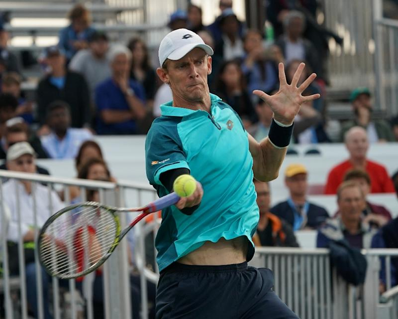 US Open: Kevin Anderson edges Sam Querrey to reach first Slam semifinal