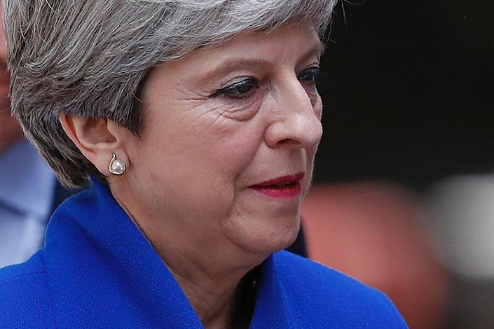 British Prime Minister Theresa May has been warned that her days are numbered (AFP Photo/Adrian DENNIS)