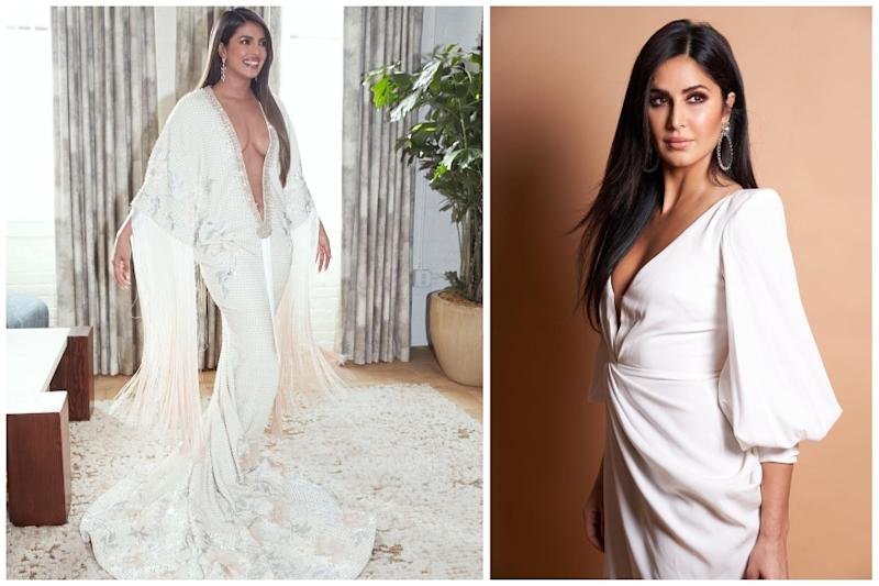 Katrina Kaif Comes Out in Support of Priyanka Chopra's Grammy Outfit, Calls It 'Absolutely Stunning'