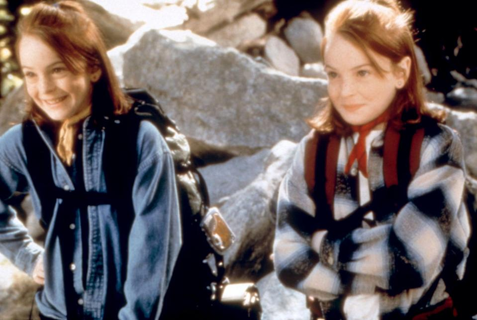 <p>Add outdoorsy accessories like a bandana tied around your neck, just as Hallie and Annie do.</p>