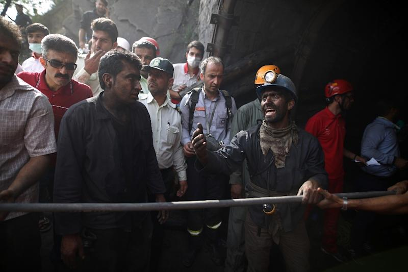 Death toll rises to 35 in Iran coal mine explosion