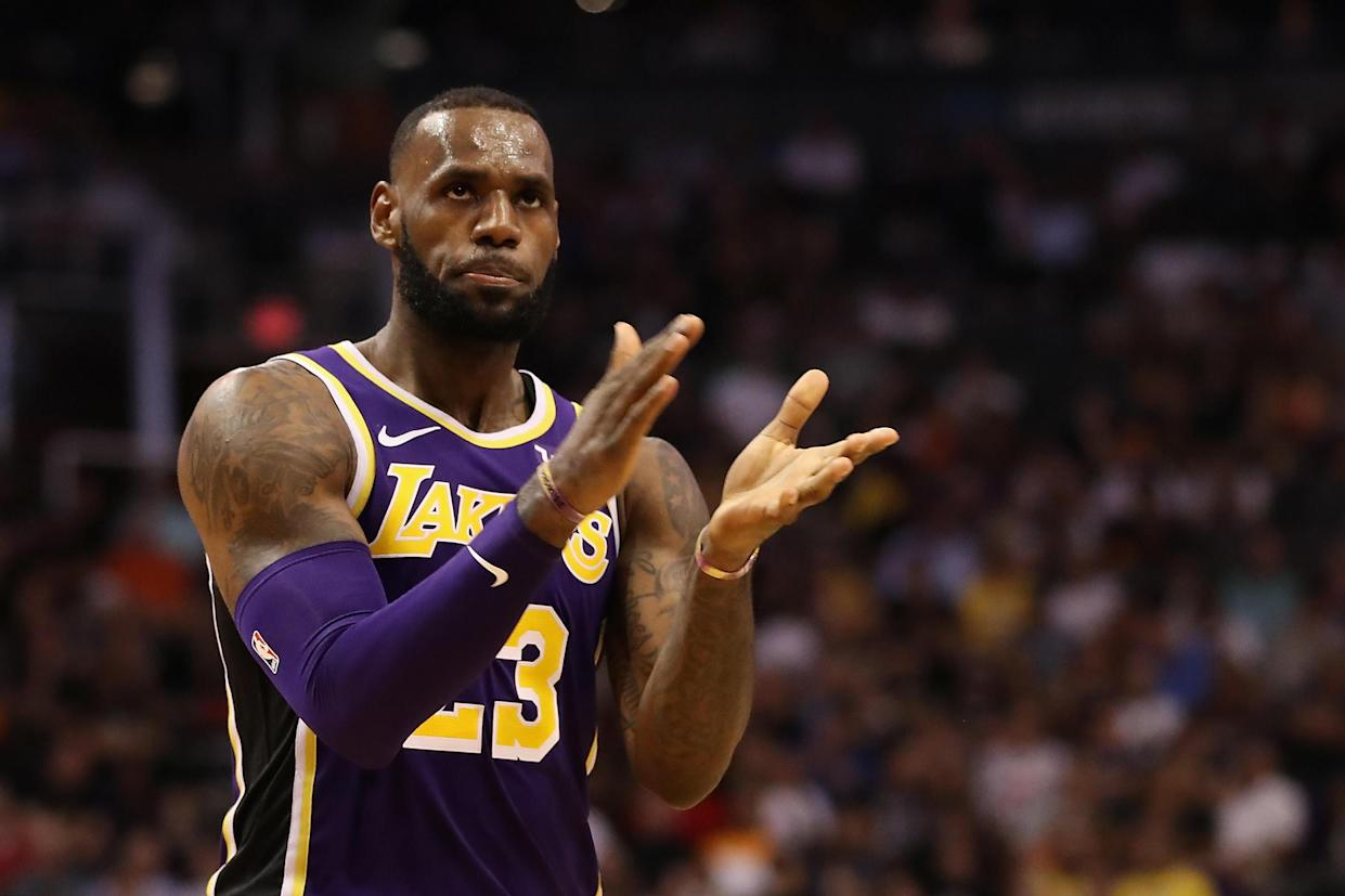 LeBron James made more history on Wednesday night. (FranceTV Sport)
