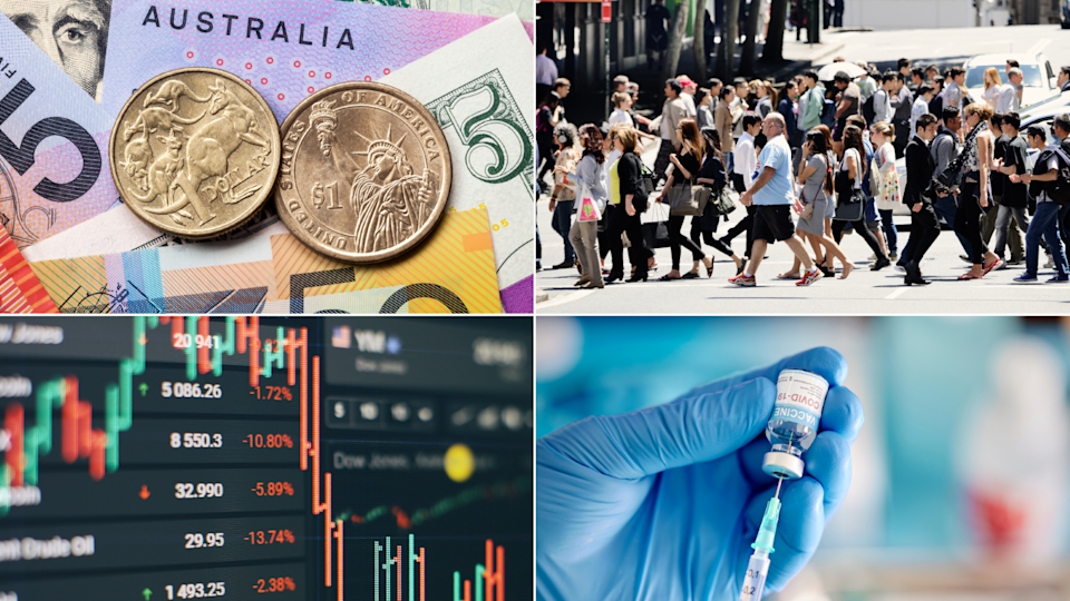 ASX to drop as NSW faces jab shortage for workers. Source: Getty
