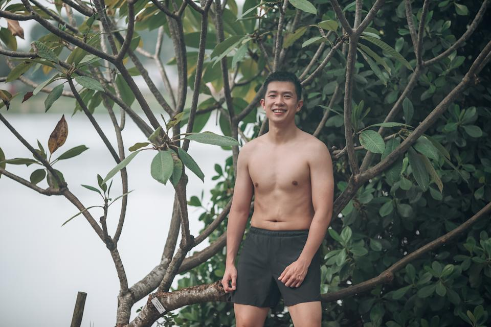 Sutsiam says he has never felt more alive after beginning on his fitness journey.