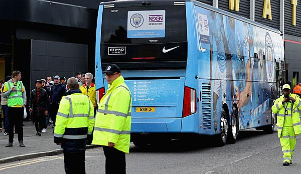 Champions League: Liverpool-Fans attackieren Manchester Citys Teambus mit Flaschen