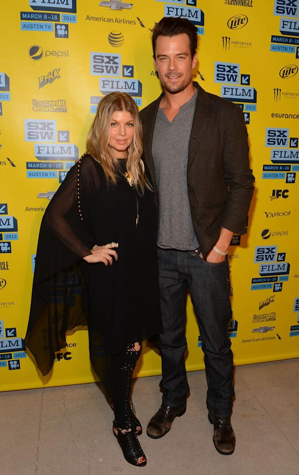 AUSTIN, TX - MARCH 08:  Singer Fergie and actor Josh Duhamel attend the 'Scenic Route' screening at the 2013 SXSW Music, Film + Interactive Festival held at the Topfer Theatre at ZACH on March 8, 2013 in Austin, Texas.  (Photo by Mark Davis/Getty Images)