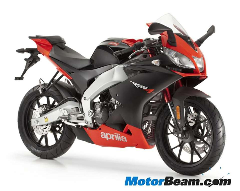 Aprilia is expected to bring a small capacity (200cc) version of its flagship RSV4 motorcycle, called the RS200.