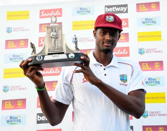 Jason Holder has made his desire to see the West Indies as the world's best side clear (AFP/Getty)