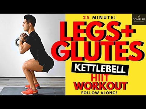 """<p>Let's take all those <a href=""""https://www.womenshealthmag.com/uk/fitness/workouts/a708012/kettlebell-exercises/"""" rel=""""nofollow noopener"""" target=""""_blank"""" data-ylk=""""slk:kettlebell exercises"""" class=""""link rapid-noclick-resp"""">kettlebell exercises</a> you've learned and channel them into a kettlebell HIIT workout, shall we? Follow along for an advanced weighted session. <strong><br></strong></p><ul><li><strong>How long? </strong>25 minutes</li><li><strong>Equipment: </strong>Kettlebell </li></ul><p><a href=""""https://www.youtube.com/watch?v=TbrQtf4nlmY&t=817s&ab_channel=DANIELPTFITNESS"""" rel=""""nofollow noopener"""" target=""""_blank"""" data-ylk=""""slk:See the original post on Youtube"""" class=""""link rapid-noclick-resp"""">See the original post on Youtube</a></p>"""