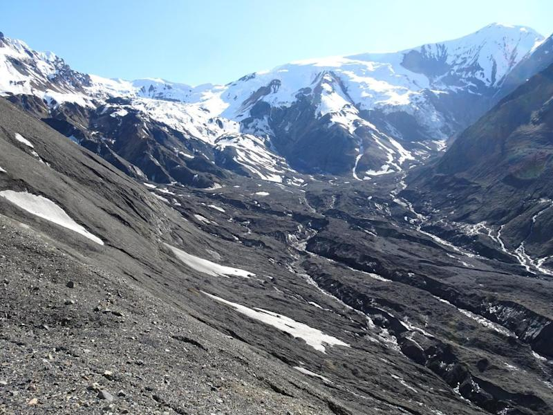Flat Creek glacier used to occupy this valley: Mylene Jacquemart