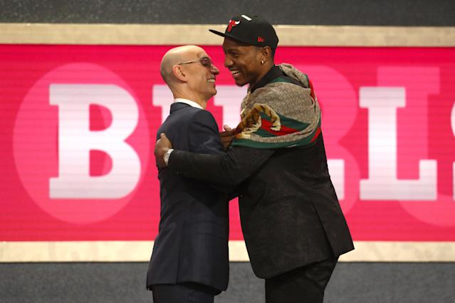 "Wendell Carter Jr.'s mom said that the NCAA treats students athletes ""like a piece of property,"" and that's one of the main reasons they supported his decision to declare for the NBA draft after just one season at Duke. (Getty Images)"