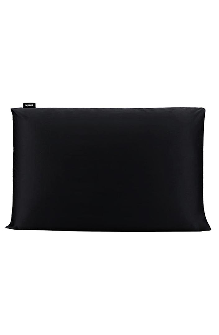 """<p><strong>NIGHT BEAUTY PILLOW</strong></p><p>nordstrom.com</p><p><a href=""""https://go.redirectingat.com?id=74968X1596630&url=https%3A%2F%2Fwww.nordstrom.com%2Fs%2Fnight-trisilk-anti-aging-pillowcase%2F5908595&sref=https%3A%2F%2Fwww.bestproducts.com%2Fhome%2Fg37170909%2Fnordstrom-anniversary-sale-2021%2F"""" rel=""""nofollow noopener"""" target=""""_blank"""" data-ylk=""""slk:Shop Now"""" class=""""link rapid-noclick-resp"""">Shop Now</a></p><p><del>$100.00</del> $66.90 <strong>(33% off)</strong></p><p>Let Trisilk help you get your beauty sleep, thanks to its silk blend pillowcases that reduce sleep wrinkles, blemishes and bedhead all while you're counting sheep. </p>"""
