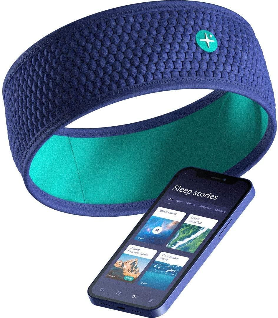 <p>If you need to prioritize sleep and relaxation, the <span>HoomBand Wireless Bluetooth Innovative Headband</span> ($80) will let you listen to calming sounds, guided meditations, and more.</p>