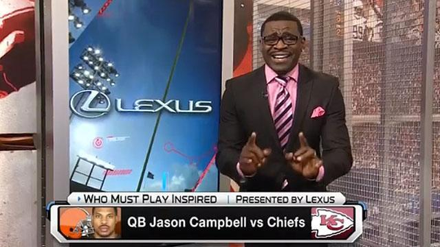 Michael Irvin references scalping in on-air segment