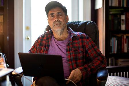 David Tuller, DrPH, a senior fellow in public health and journalism at the Center for Global Public Health, School of Public Health, UC Berkeley, poses for a portrait at his home in San Francisco, California, U.S., January 2, 2019. Picture taken January 2, 2019.  REUTERS/Stephen Lam