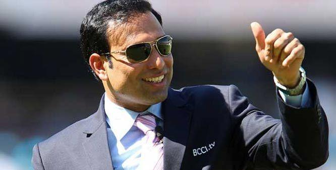 Laxman during one of his commentary stints