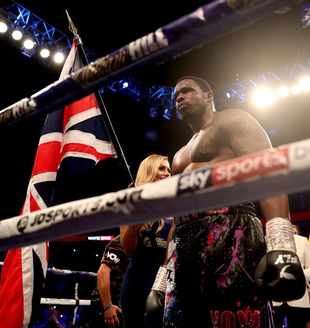 British boxer Dillian Whyte tested positive for banned substances