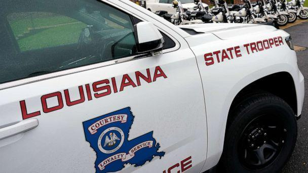 PHOTO: This file photo shows a Louisiana State Police vehicle on Sept. 25, 2020. (Rogelio V. Solis/AP)