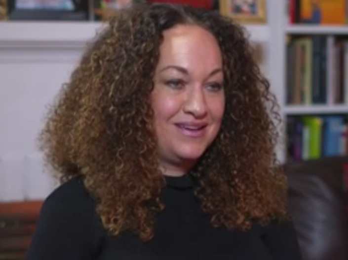 Rachel Dolezal still identifies as black and says she has been 'stigmatised' since being outed as a white woman in 2015 (Screenshot)