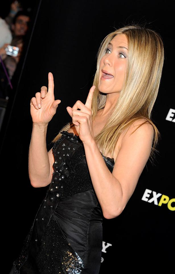 """According to Hollyscoop, Jennifer Aniston will appear in her best friend Courteney Cox's upcoming film """"Scream 4."""" The website even warns, """"Get ready to see Jennifer Aniston scare the daylights out of you!"""" Head over to <a href=""""http://www.gossipcop.com/jennifer-aniston-scream-4-killed-courteney-cox/"""" target=""""new"""">Gossip Cop</a> for the frighteningly funny details about Aniston and Cox's pairing on the big screen. Fotonoticias/<a href=""""http://www.wireimage.com"""" target=""""new"""">WireImage.com</a> - March 30, 2010"""