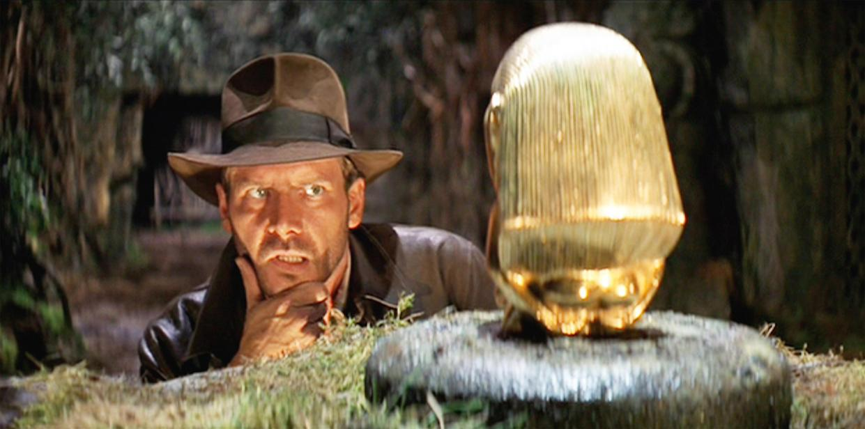 LOS ANGELES - JUNE 12: The movie: Indiana Jones and the Raiders of the Lost Ark , (aka: