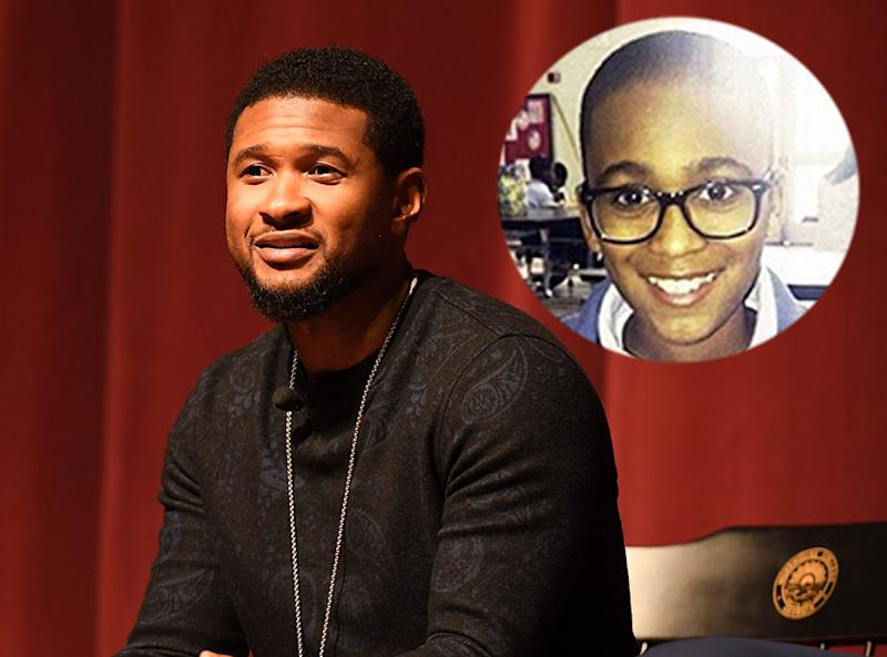 Usher remembers his late stepson, Kile Glover, on what would have been his 16th birthday