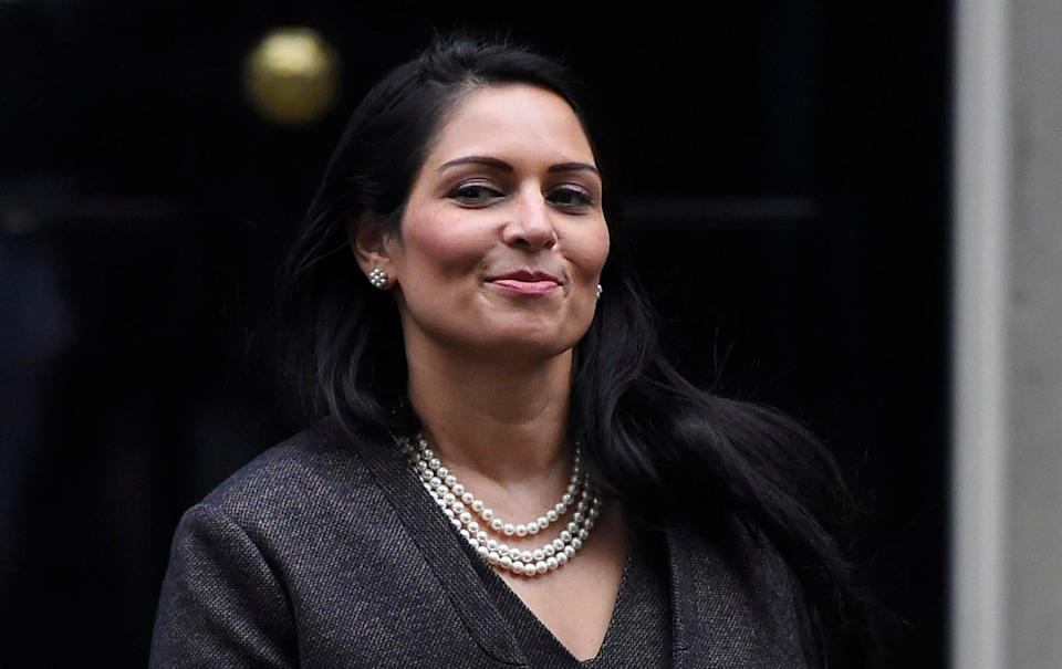 Priti Patel's office said she would not be able to attend the Police Superintendents' Association's event due to 'urgent parliamentary business' - Peter Summers/Getty Images