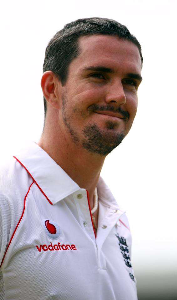 ANGUILLA, SAINT KITTS AND NEVIS - JANUARY 31:  Kevin Pietersen walks off after his dismissal on Day Three of the warm up match against The West Indies 'A' XI  played at The Warner Park Cricket Stadium on January 31, 2009 in St.Kitts and Nevis.  (Photo by Julian Herbert/Getty Images)