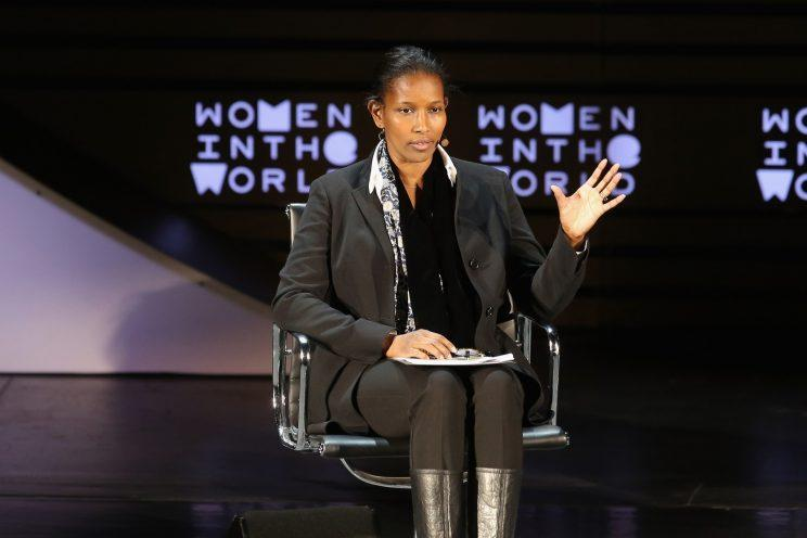 Ayaan Hirsi Ali speaks at the Women in the World Summit earlier this year in New York City. (Photo: Jemal Countess/Getty Images)