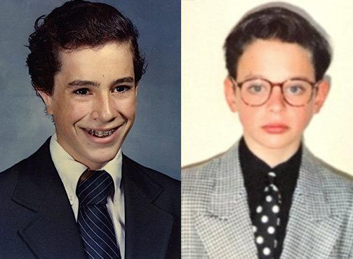 "Stephen Colbert, left, and Nick Kroll, right, launched the #puberme social media campaign on Wednesday's broadcast of ""The Late Show."""