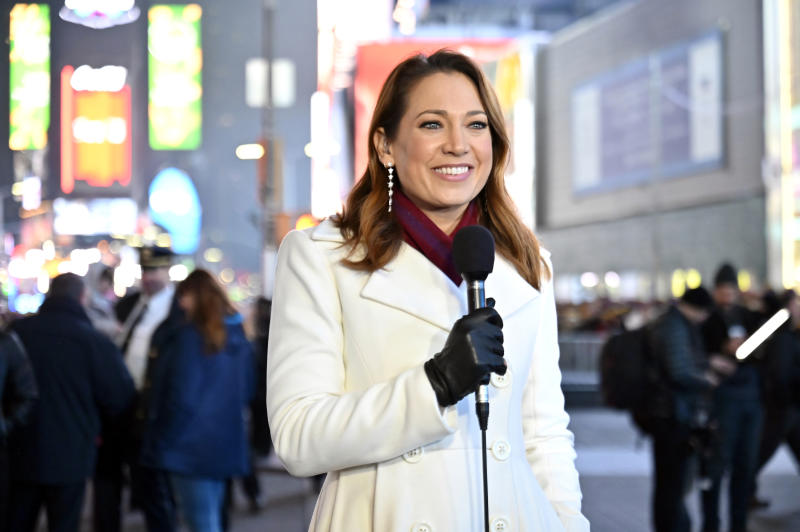Good Morning America meteorologist Ginger Zee revealed her mental health struggles during Suicide Prevention Week. (Photo: Jeff Neira/ABC via Getty Images) GINGER ZEE