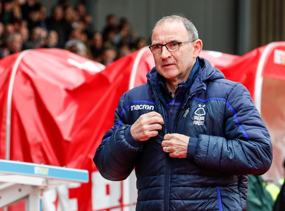 Martin O'Neill has been sacked by Nottingham Forest. (Photo by Andrew Kearns - CameraSport via Getty Images)