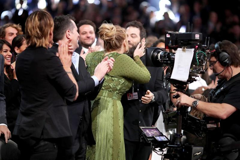 Adele and Simon Konecki | Christopher Polk/Getty Images for NARAS
