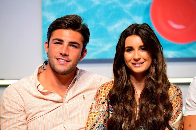 Next step: Dani Dyer and Jack Fincham have adopted a puppy: Ian West/PA