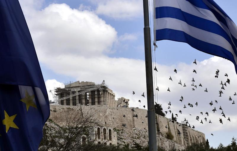 Greece said it would miss a midnight deadline to provide a list of reforms to its international lenders aimed at obtaining a four-month extension of its bailout (AFP Photo/Luisa Gouliamaki)