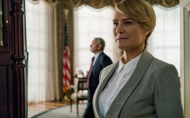 Robin Wright to take over House of Cards final season