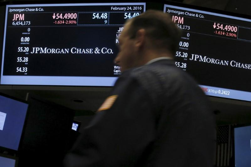 U S  bank stocks surge on optimism of March rate hike